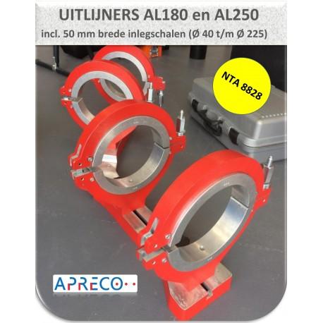 Aligner 40mm t/m 160/180 mm (NTA8828)