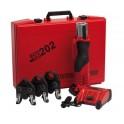 Persmachine ACO 202/3 compleet met Multipress 14 t/m 32 mm